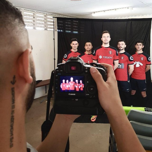 Behind the scenes shoot for Sporting Rovers 2018 campaign Thankshellip